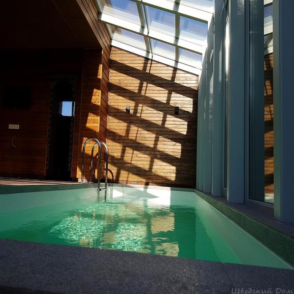 Бассейн дом баня  Шведский Дом Гомель