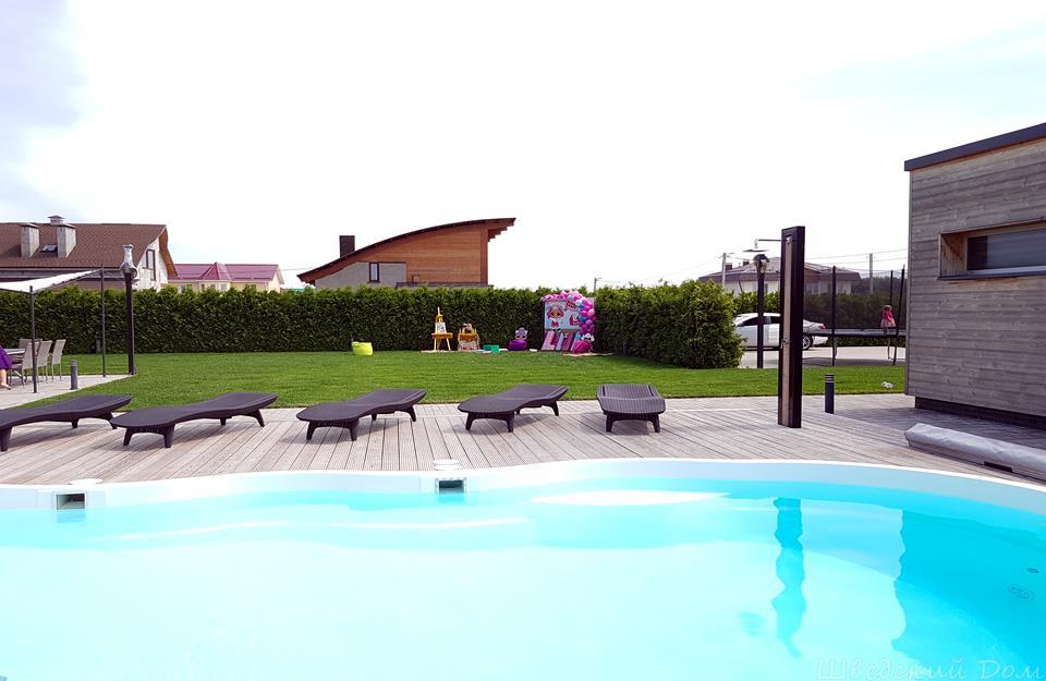Летний бассейн   Шведский Дом Гомель