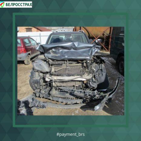 Повреждение автомобиля в результате ДТП.