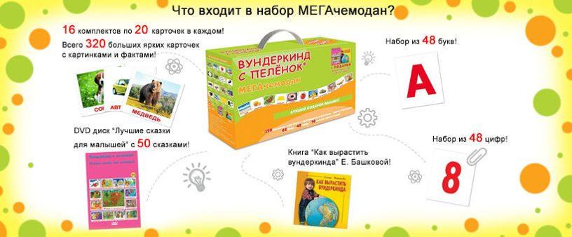Подарочный набор МЕГАчемодан Вундеркинд с пеленок