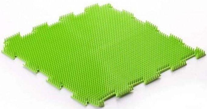 Трава мягкая (1 пазл) Массажный коврик