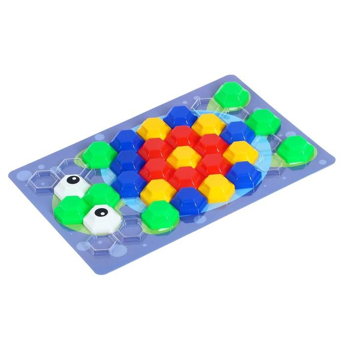 Мозаика Baby Toys для самых маленьких Рыбка 34 эл