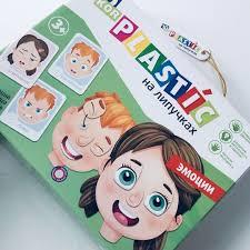 Развивающая игра пластик на липучках Эмоции