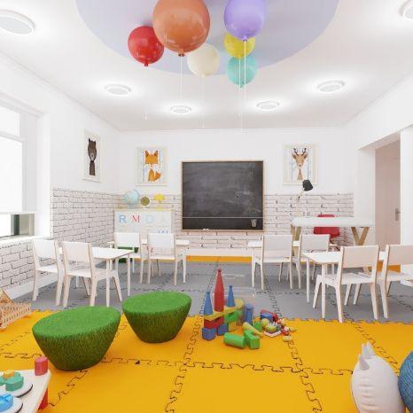 Элитный детский сад Делакруа
