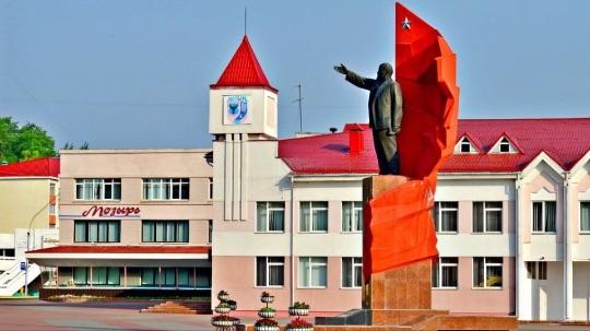 Что посмотреть в Мозыре - Площадь Ленина