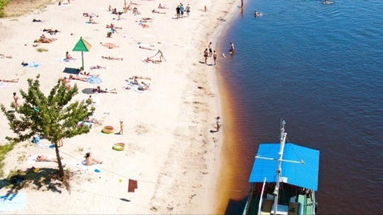 Что посмотреть в Мозыре - Пляж
