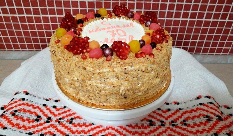 торт юбилей мозырь