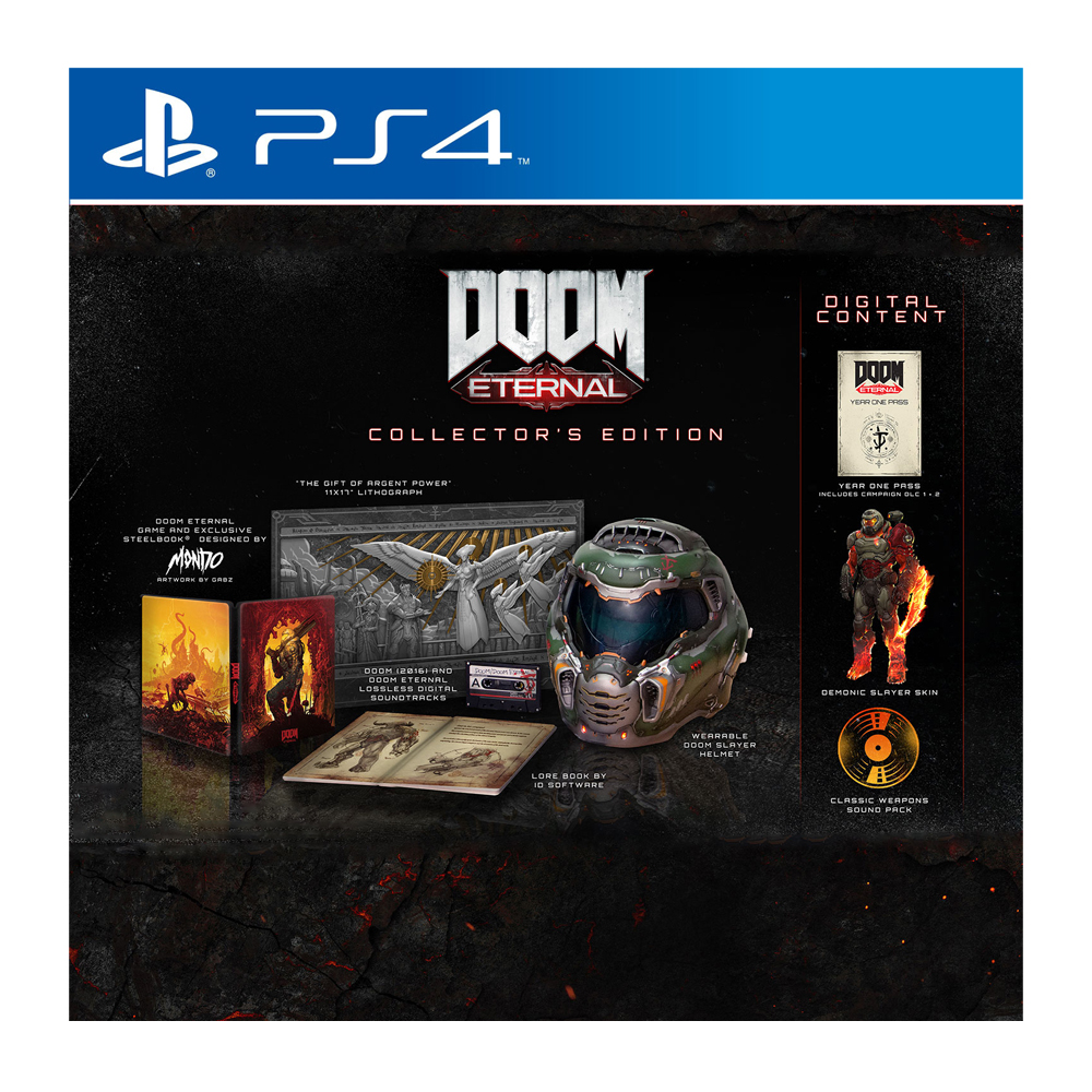 DOOM Eternal - Collector's Edition (PS4) от магазина Games of World
