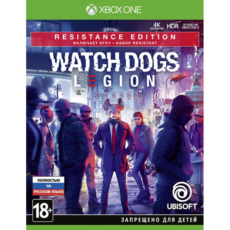 WATCH_DOGS: LEGION. RESISTANCE EDITION (XBOX ONE) от магазина Games of World