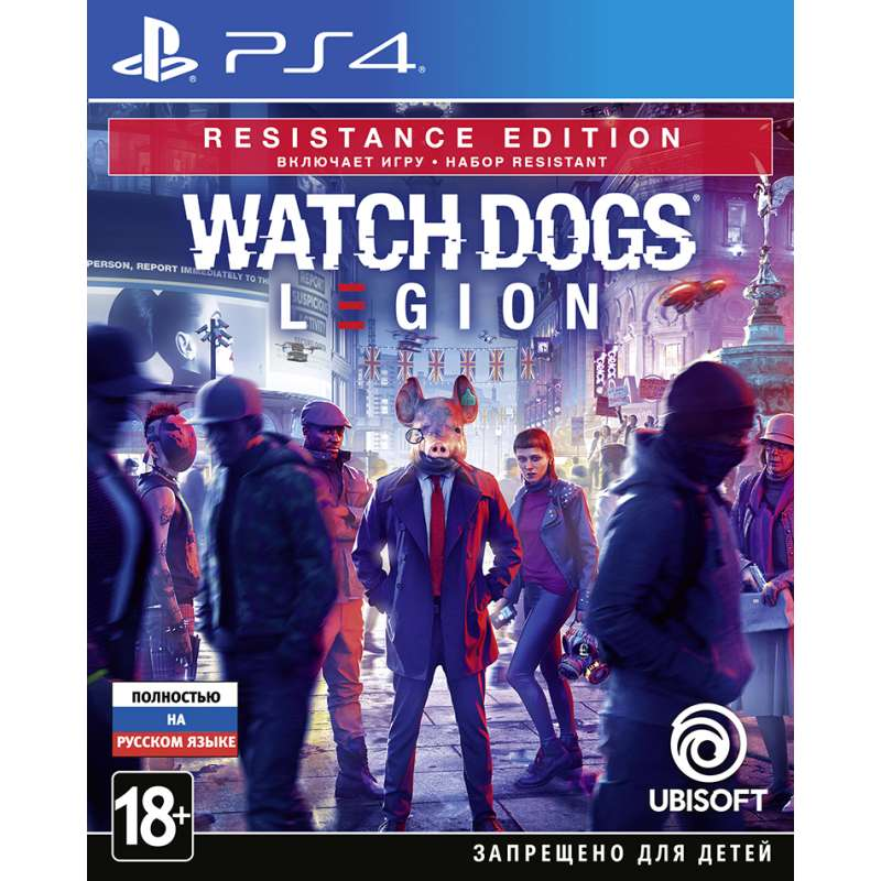 WATCH_DOGS: LEGION. RESISTANCE EDITION (PS4) от магазина Games of World