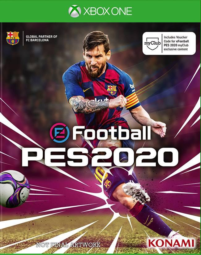 eFootball PES 2020 (XBOX ONE) от магазина Games of World