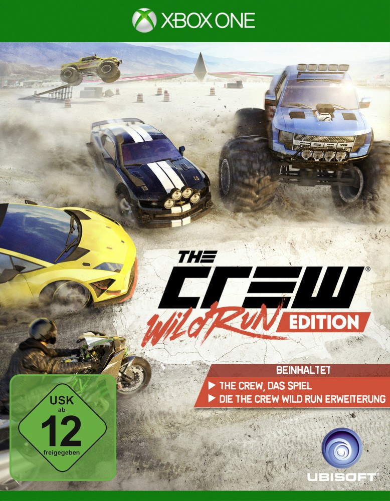 THE CREW. WILD RUN EDITION ДЛЯ XBOX ONE от магазина Games of World
